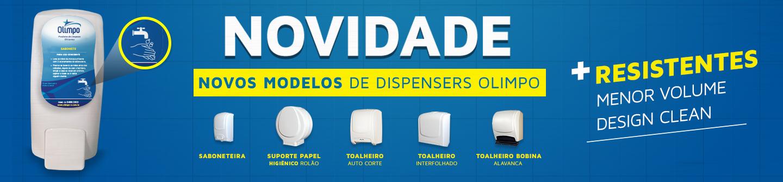 Olimpo – Banners – Fevereiro – Dispensers