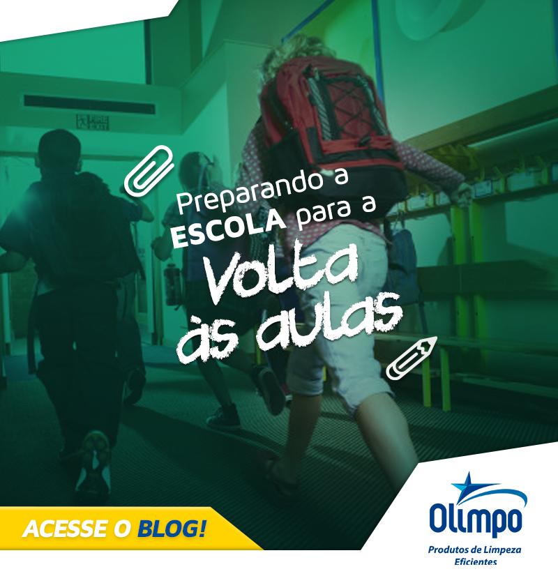 OLIMPO - Preparando a escola para a volta às aulas