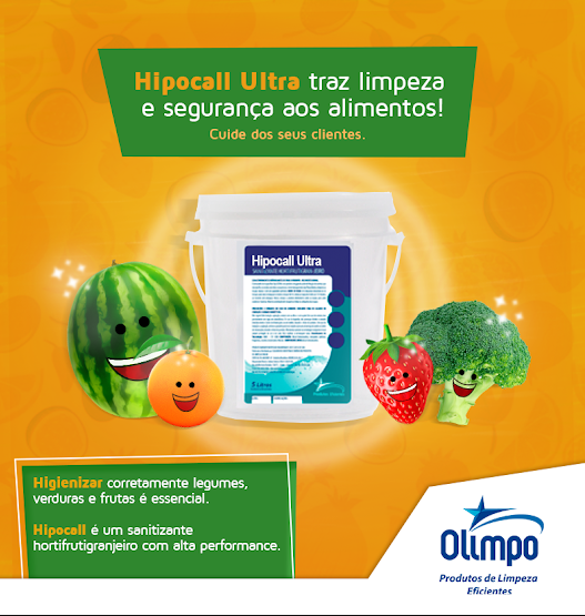 hizienização de frutas verduras e legumes