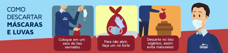 OLIMPO – Banners Maio – Máscaras